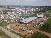 Ariel View of the Calnash Ag Events Centre