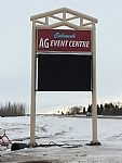 Calnash Ag Centre Event Sign